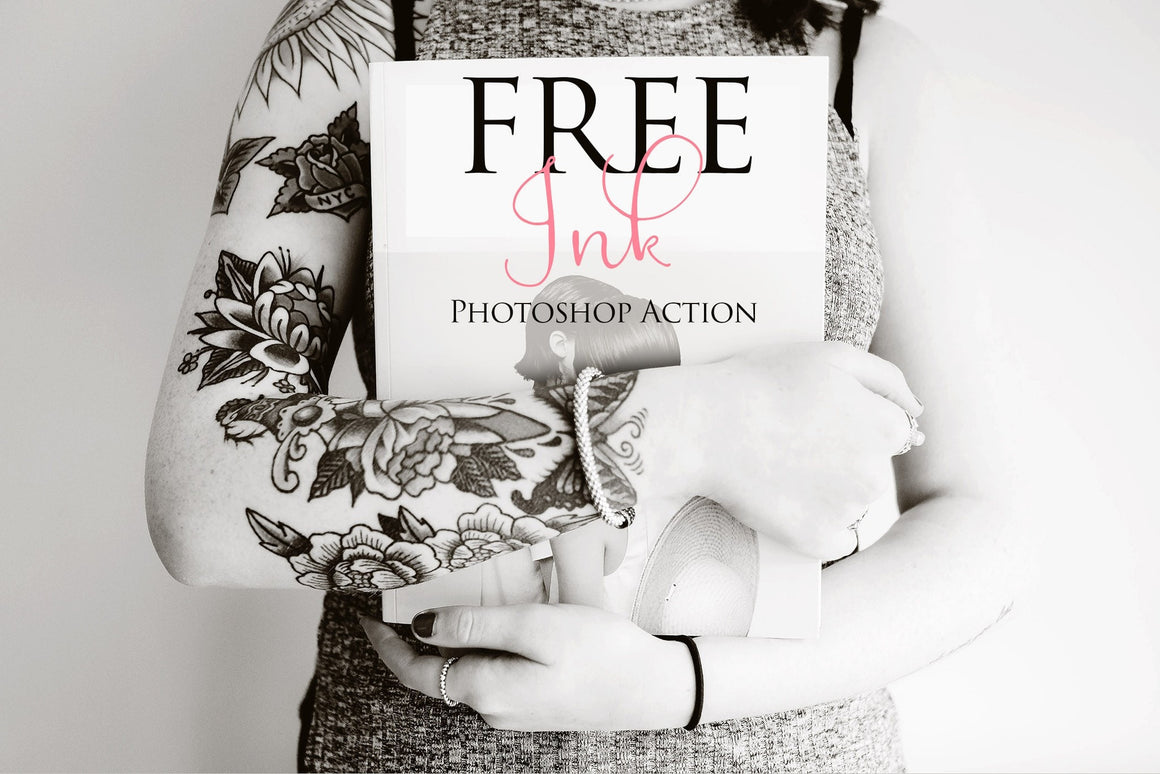 Ink Photoshop Action: FREE