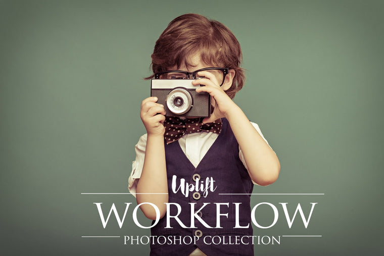 Uplift Workflow Photoshop Action Collection