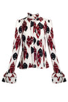Valerie print blouse - VeRaf Clothing