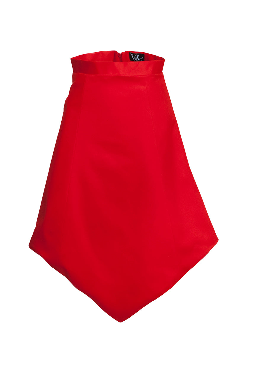 Anna red skirt - VeRaf Clothing