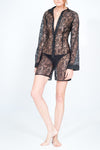Jacquie short lace onesie - VeRaf Clothing