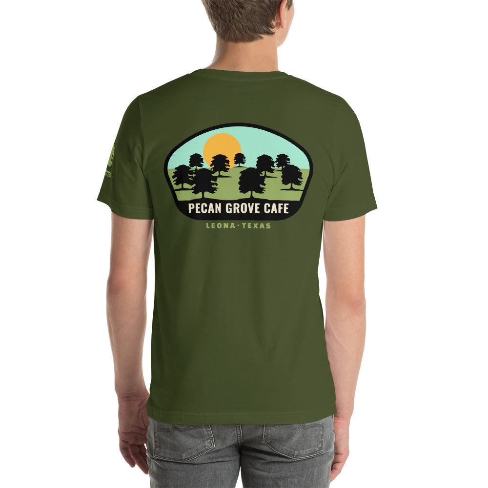 PECAN GROVE CAFE T-SHIRT