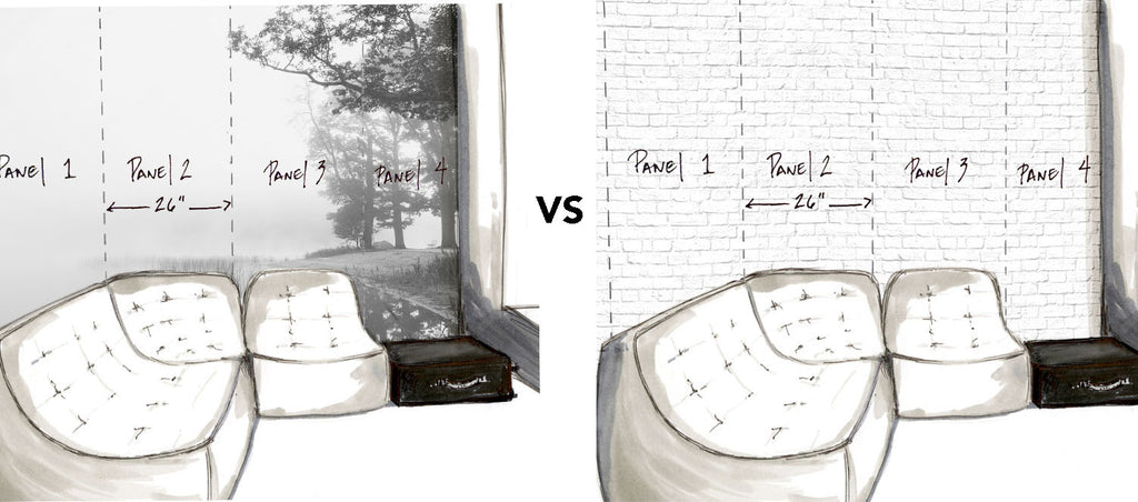 What is the difference between a Wallpaper and a Mural?
