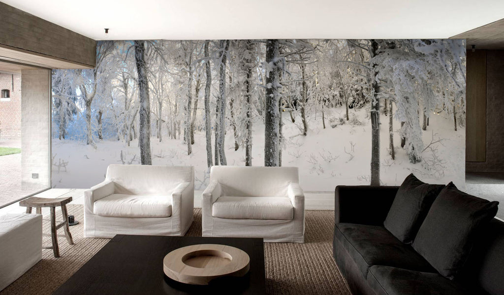 After a Soft Snowfall HD Mural - WYNIL by NumerArt Wallpaper and Art
