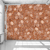 Copper Frida Flowers Wallpaper - WYNIL by NumerArt Wallpaper and Art