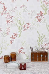 Bog White Wallpaper - WYNIL by NumerArt Wallpaper and Art