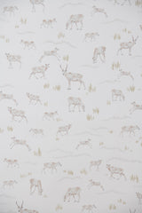 Caribou Wallpaper - WYNIL by NumerArt Wallpaper and Art