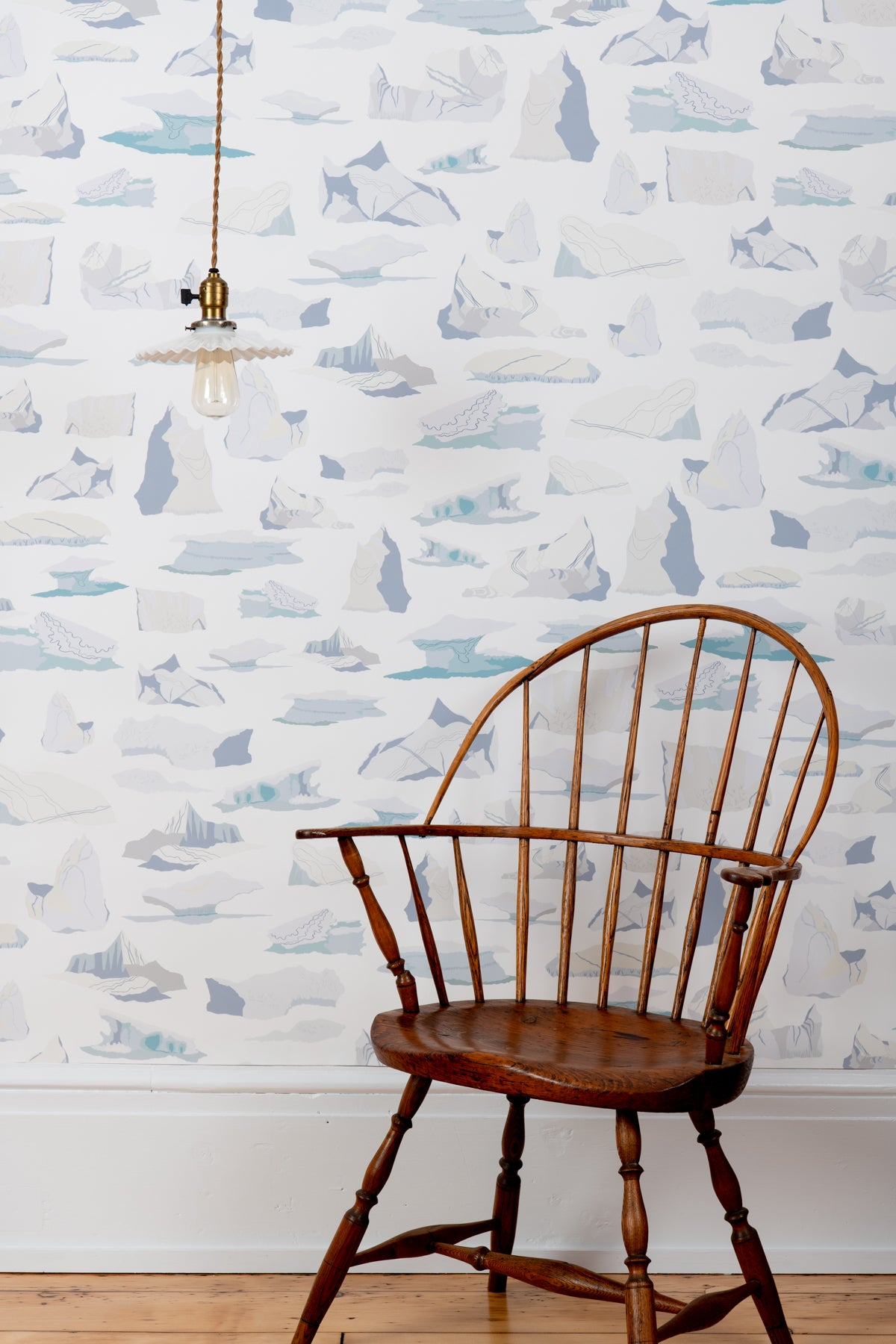 Icebergs Wallpaper - WYNIL by NumerArt Wallpaper and Art