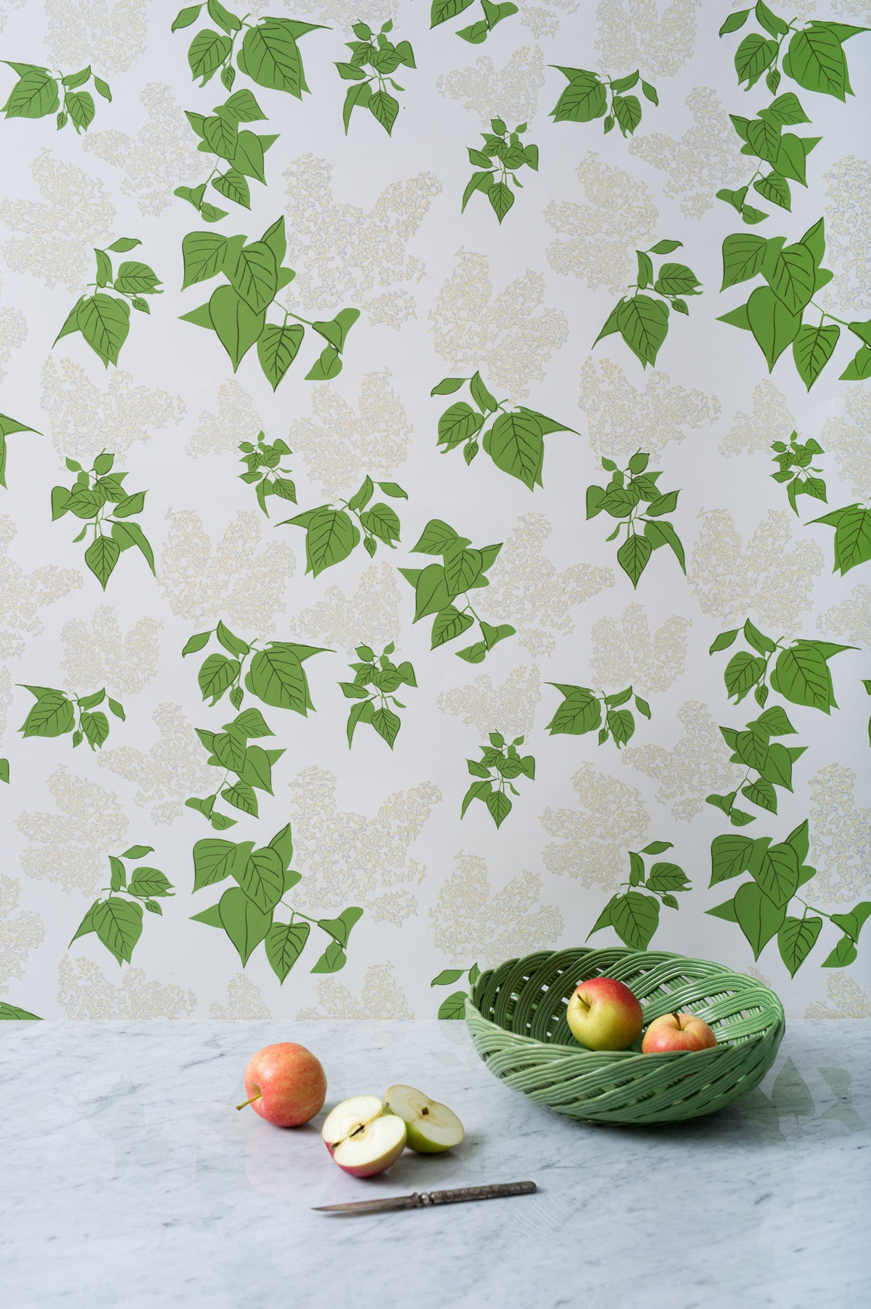 Lilac Cream Wallpaper - WYNIL by NumerArt Wallpaper and Art