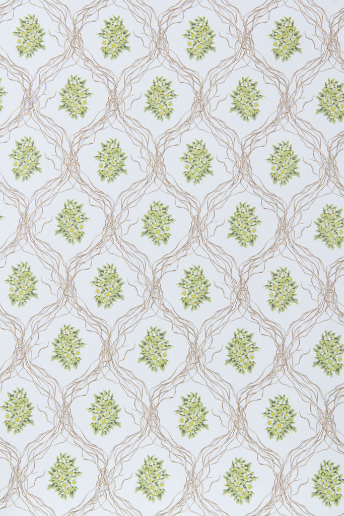 Trinity Floral Wallpaper - WYNIL by NumerArt Wallpaper and Art