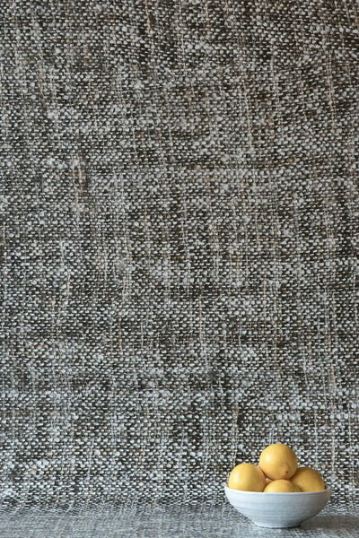 Dark Grey Tricot Wall Wallpaper
