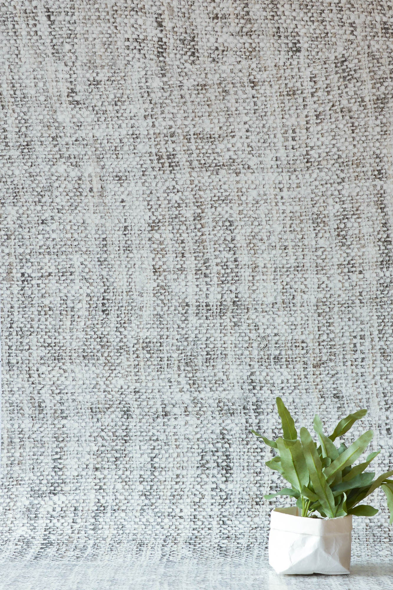 Pale Grey Tricot Wall