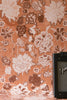 Copper Frida Flowers Wallpaper