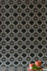 Black & Grey Azulejos Wallpaper - WYNIL by NumerArt Wallpaper and Art