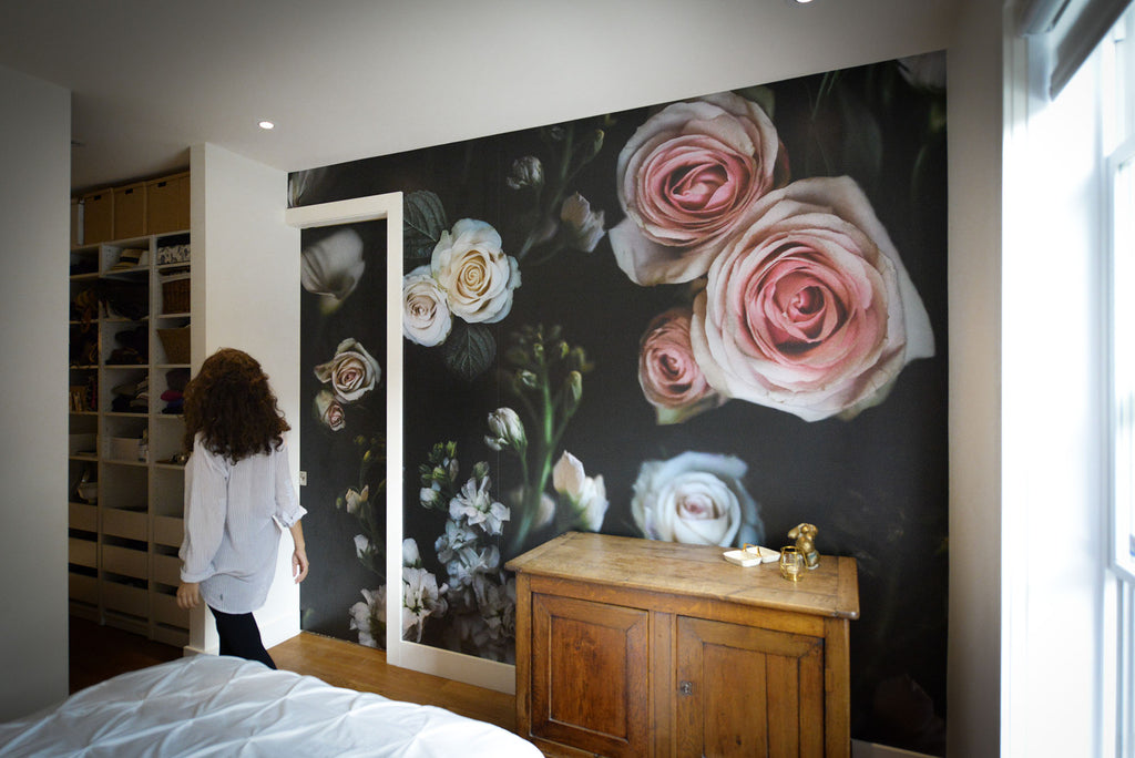 Blossoms in Your Home Mural - WYNIL by NumerArt Wallpaper and Art