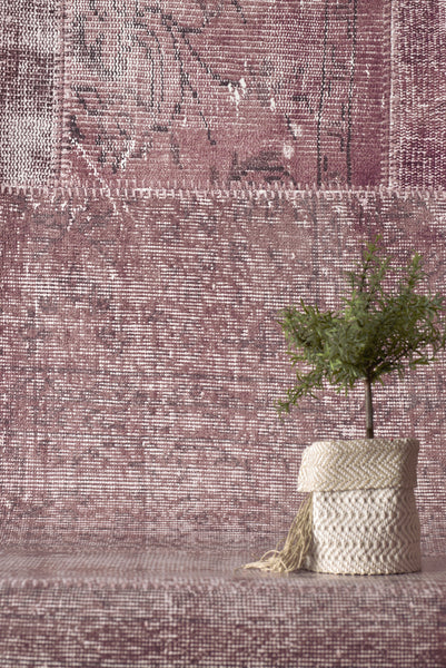 Patchwork Girly Wallpaper - WYNIL by NumerArt Wallpaper and Art