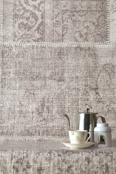 Patchwork Pale Wallpaper - WYNIL by NumerArt Wallpaper and Art
