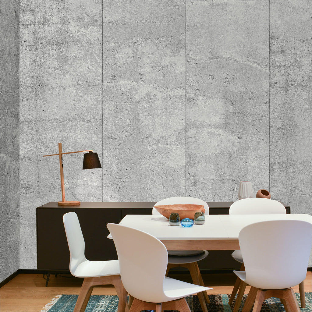 Concrete Sandy Gray Wallpaper