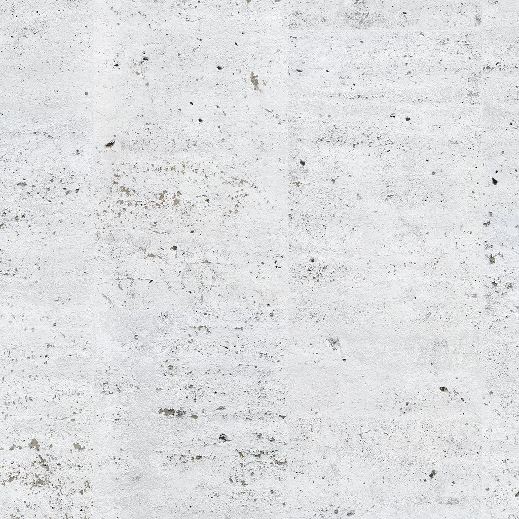 Concrete Painted White Wallpaper