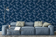Bluebird Moonlight Wallpaper - WYNIL by NumerArt Wallpaper and Art