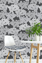 Canadian Ginger Monochrome Wallpaper - WYNIL by NumerArt Wallpaper and Art