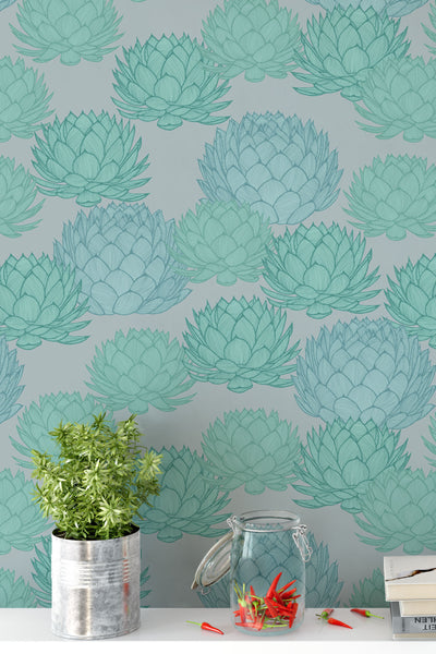 Parry's Agave Noon Wallpaper - WYNIL by NumerArt Wallpaper and Art