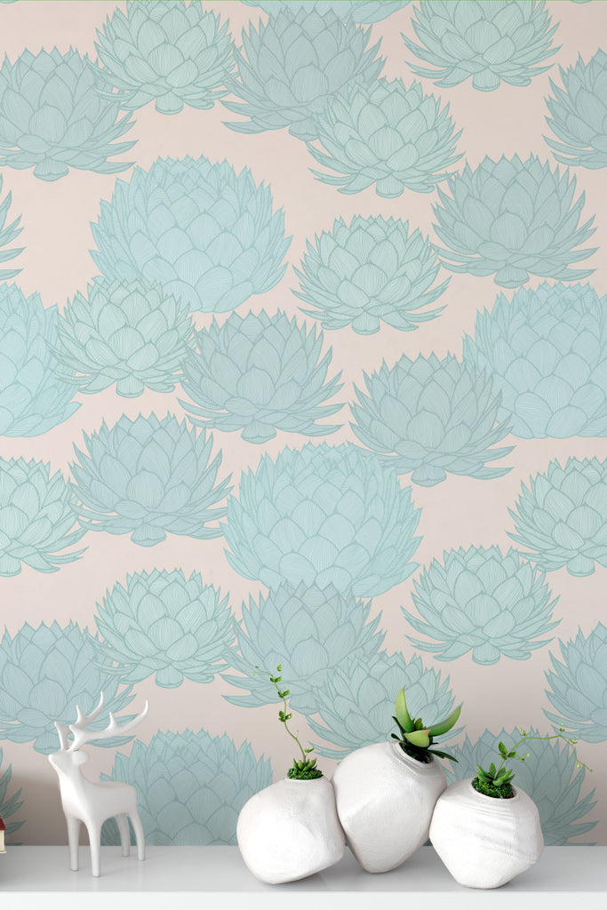 Parry's Agave Sunset Wallpaper - WYNIL by NumerArt Wallpaper and Art
