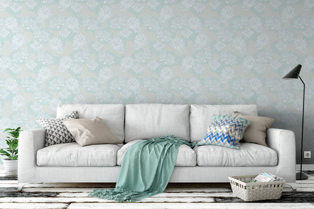 Plena Tranquil Wallpaper - WYNIL by NumerArt Wallpaper and Art