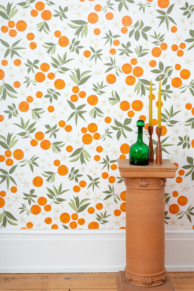 Orange Blossom Wallpaper