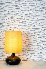 Sardines White Wallpaper