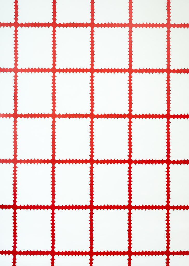 Tablecloth Red Wallpaper