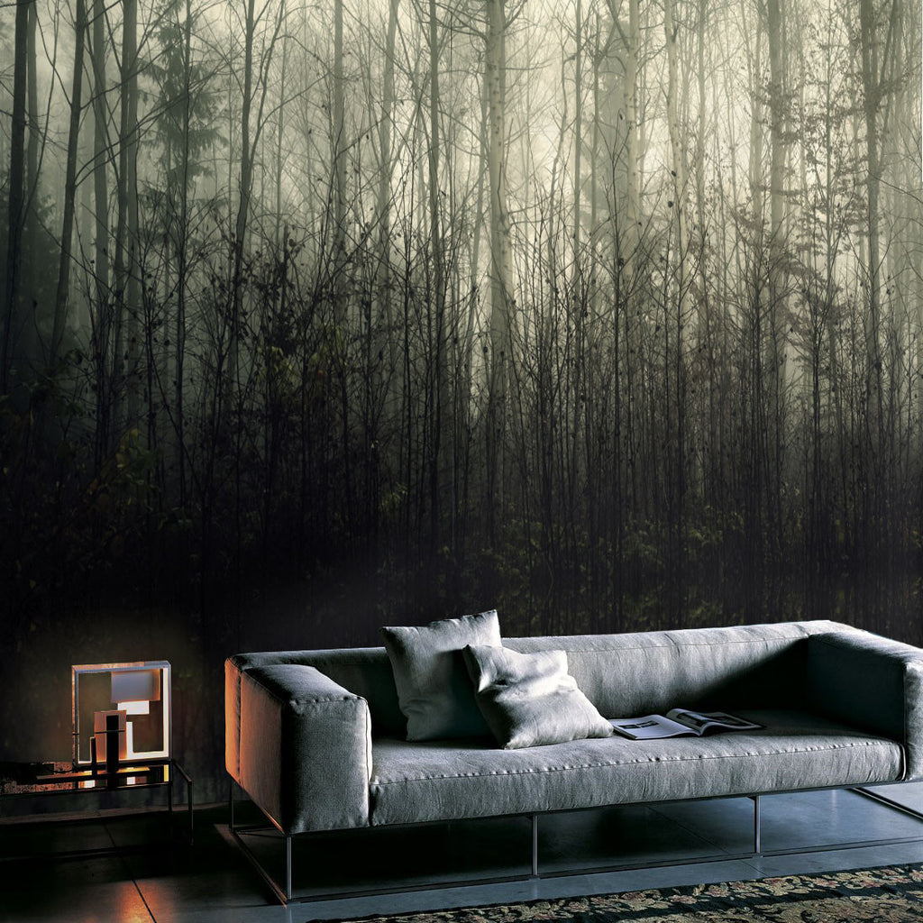 Mystic Forest Mural - WYNIL by NumerArt Wallpaper and Art