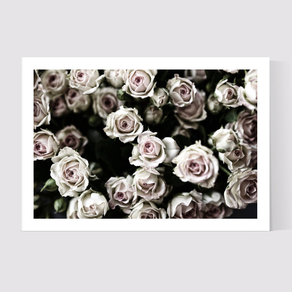 Roses Art Print - WYNIL by NumerArt Wallpaper and Art
