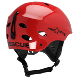 ACE WATER RESCUE HELMET - GLOSS RED