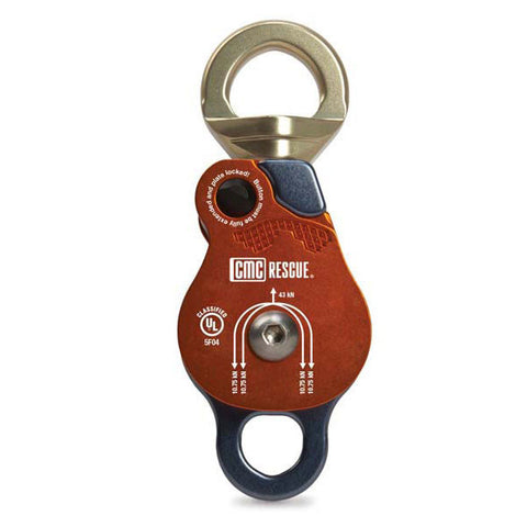 CMC Swivel Double Pulley - RescueGear.com  - 1
