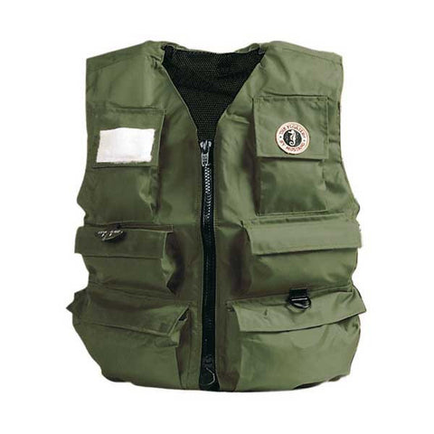MIV-10 Mustang Inflatable Fisherman's Vest (Manual)