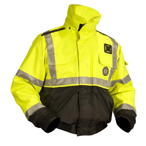 MJ6214 G3 Mustang High Visibility Flotation Bomber Jacket