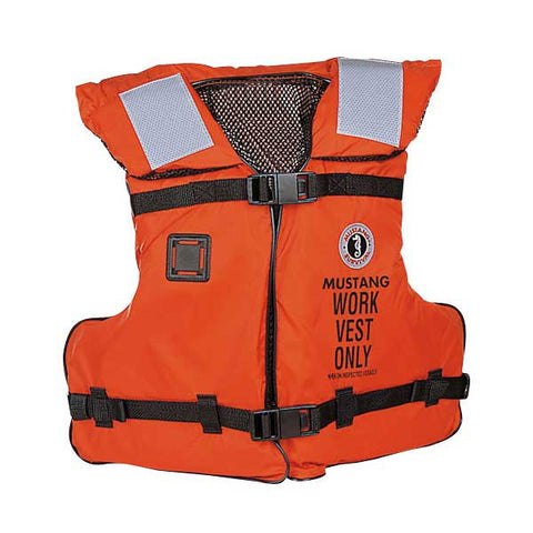 MV3192 Mustang Work Vest w/SOLAS Reflective Tape