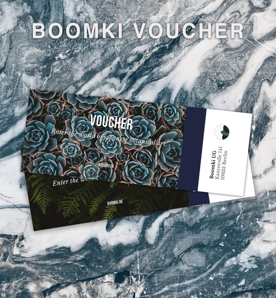Boomki Workshop Voucher Workshop B o o m k i - Japangarten Bonsai Wabikusa - B o o m k i