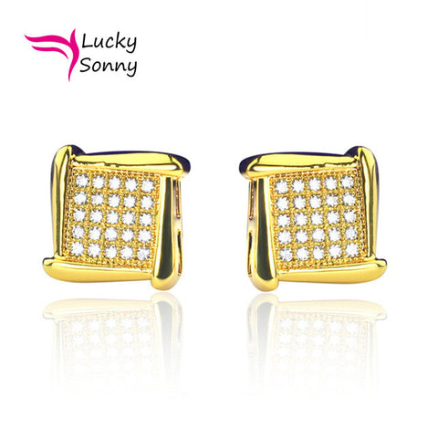Stud Earring Kite Shaped Screw Back - LIT!
