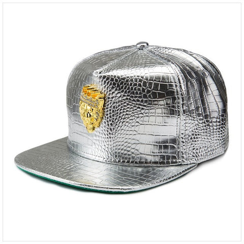 No Mercy. Dope Leather Snapback!