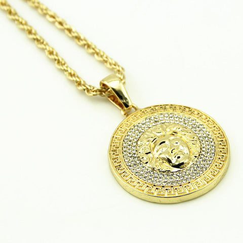 "Dope Ass 35"" Gold Plated Dolla Sign Necklace. OG real!"