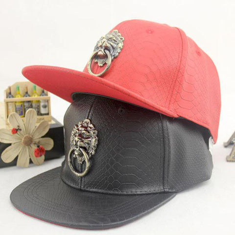 Killa Artificial Leather Snapbacks