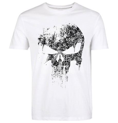 Punisher T Shirt white