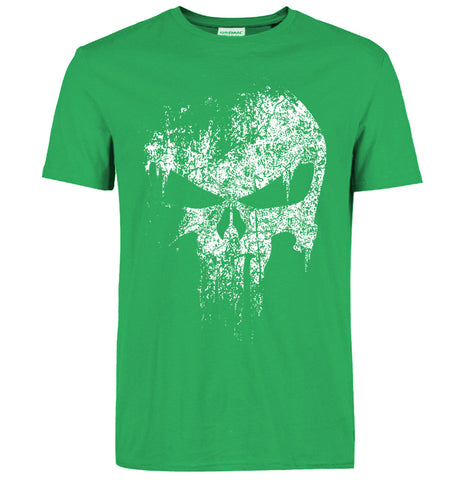 Punisher T Shirt green