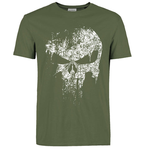 Punisher T Shirt blue