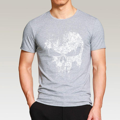 Punisher T Shirt gray