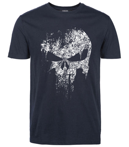 Punisher T Shirt Navy blue