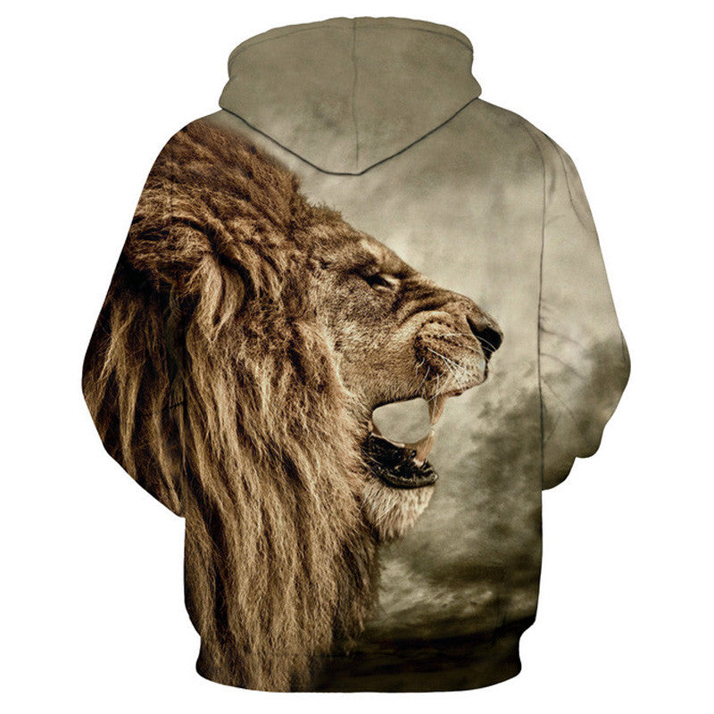 Dope hoodie with 3D  Lion