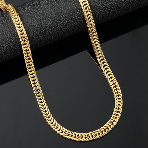 Mens Cuban Link Chains Necklace